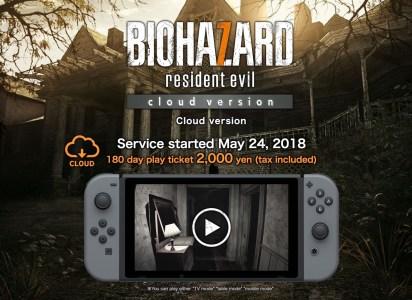 Capcom запускает в Японии портированную на Nintendo Switch игру Resident Evil 7. Игра будет стримиться на консоль и обойдется в $18 за полгода