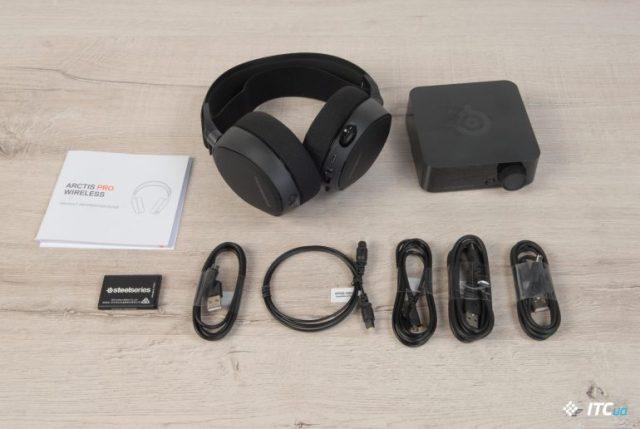 Обзор беспроводных наушников SteelSeries Arctis Pro Wireless - ITC.ua