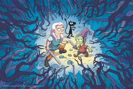 В августе на Netflix выйдет новый мультсериал Disenchantment от авторов «Симпсонов» и «Футурамы»