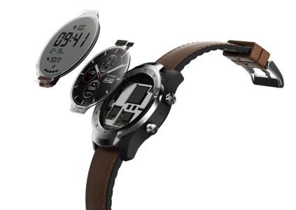 Mobvoi TicWatch Pro – умные часы с двумя дисплеями, способные работать до 30 дней без подзарядки
