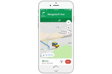 В Google Maps на iOS теперь можно поменять иконку навигации с обычной стрелки на 3D-модель автомобиля