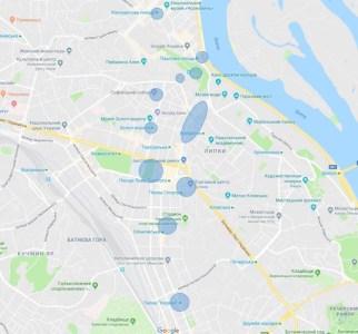 КГГА оборудовала весь наземный общественный транспорт и центральную часть города бесплатным Wi-Fi (карта)