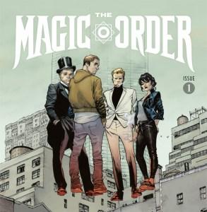 Netflix опубликовал трейлер своего первого бумажного комикса The Magic Order / «Волшебный Орден» от Марка Миллара