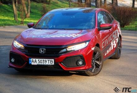 Honda Civic 5D Sport: «подогретый» хэтчбек в стиле «Honda is Back!»