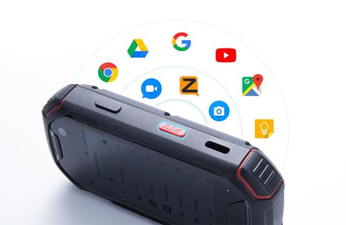 Unihertz Atom - крохотный 4G-смартфон с 2,45-дюймовым дисплеем и ценой $300