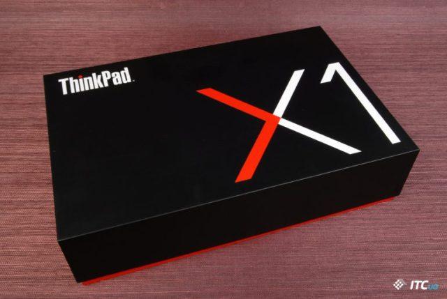 Обзор Lenovo ThinkPad X1 Carbon 6th Gen.: HDR дисплей и шторка камеры за 76к - ITC.ua