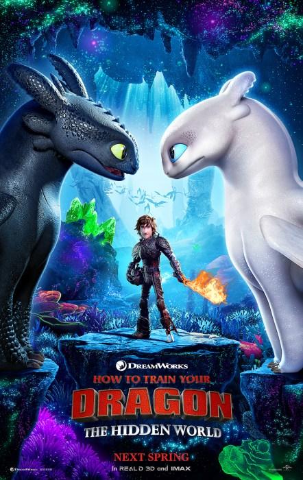 """Первый трейлер полнометражного мультфильма How to Train Your Dragon: The Hidden World / """"Как приручить дракона: Скрытый мир"""""""