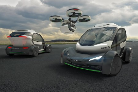 Германия одобрила тестирование летающего такси Pop.Up Next, создаваемого компаниями Airbus и Audi