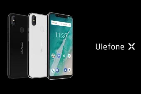 Ulefone X — китайский клон iPhone X с «челкой», распознаванием лица, беспроводной зарядкой и ценником $199