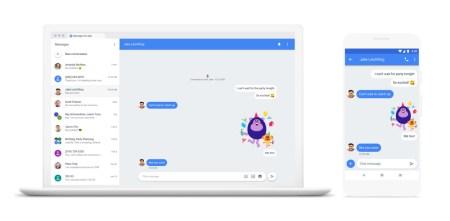 Пользователи Android теперь могут обмениваться сообщениями через Messages прямо с ПК