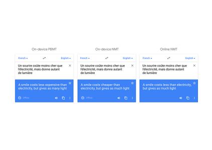 Google улучшила офлайн перевод в приложении Translate