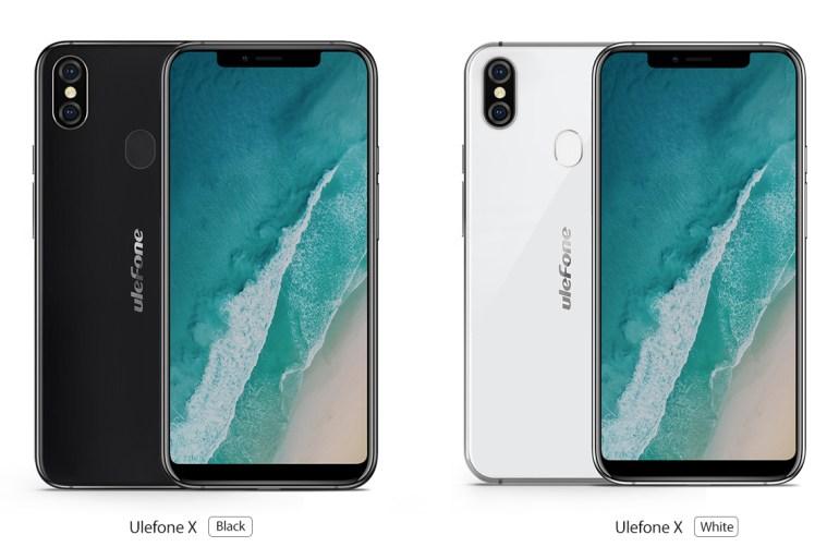 """Ulefone X - китайский клон iPhone X с """"челкой"""", распознаванием лица, беспроводной зарядкой и ценником $199"""