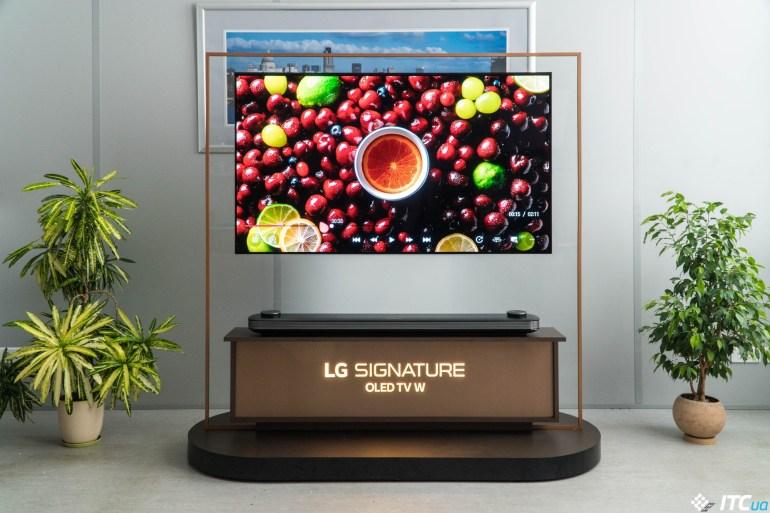 как выглядит LG OLED65W8PLA
