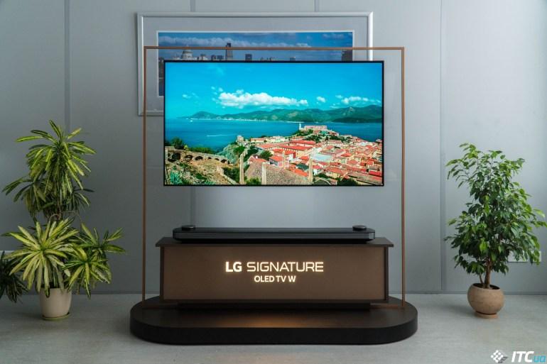 качество LG OLED65W8PLA