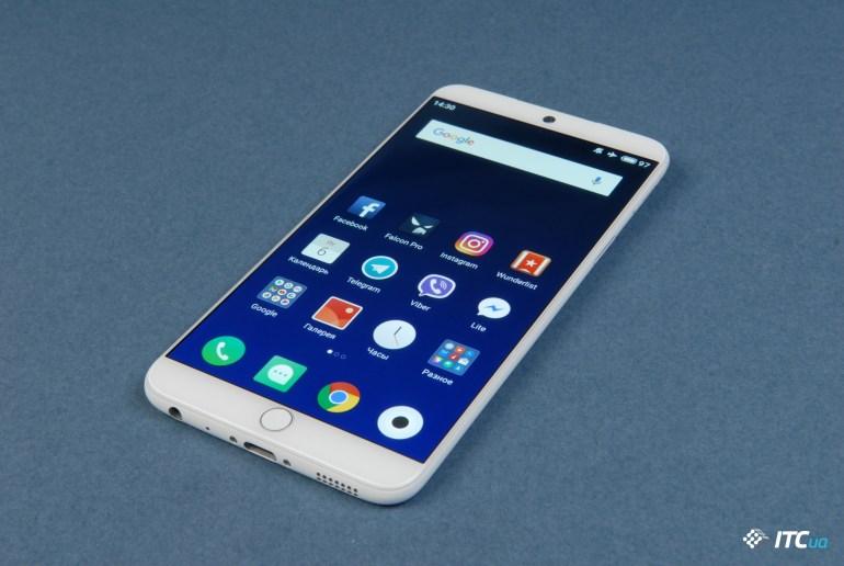 Meizu 15 экран