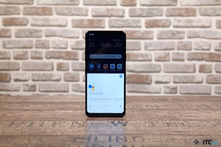 Google Assistant LG G7