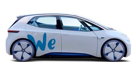 Volkswagen объявил о создании каршеринга WE с автопарком из электромобилей и электросамокатов семейства I.D.
