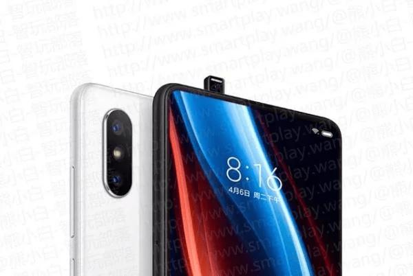 Изображения безрамочного смартфона Xiaomi Mi Mix 3 указывают на наличие у него выдвижной фронтальной камеры, как у Vivo NEX