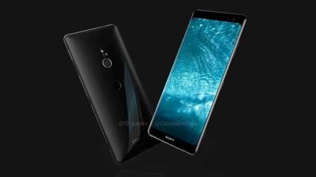 Видеоролик демонстрирует трехмерную модель флагманского смартфона Sony Xperia XZ3