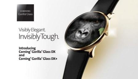 Corning также представила защитные стекла Gorilla Glass DX и DX+ для носимых устройств