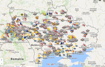 Предприятия, которые открылись в Украине с 2015 года [Интерактивная карта]