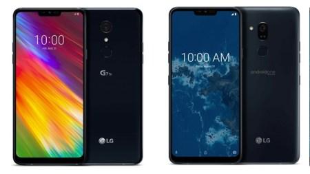 LG представила смартфоны G7 One и G7 Fit, являющиеся более доступными версиями флагмана G7 ThinQ
