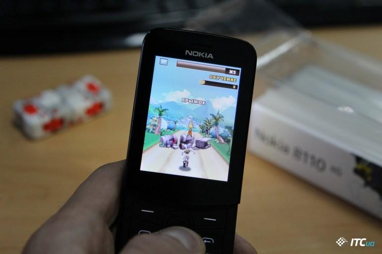 Nokia 8110 4G игры
