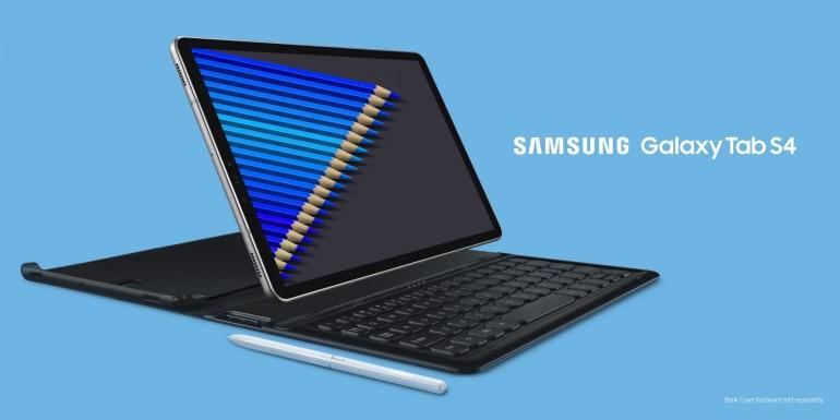 Представлен премиум-планшет Samsung Galaxy Tab S4 с 10,5-дюймовым Super AMOLED-дисплеем, Snapdragon 835, батареей на 7300 мАч и поддержкой S Pen и Samsung DeX