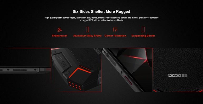 Doogee S70 – защищенный игровой смартфон с аккумулятором на 5500 мА•ч, которого хватит на 15 часов игры