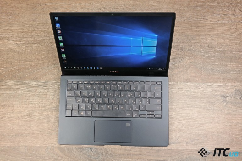 размеры ZenBook S (UX391)