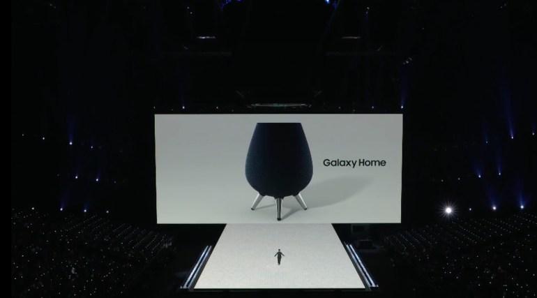 Samsung анонсировала умную колонку Galaxy Home с поддержкой виртуального ассистента Bixby