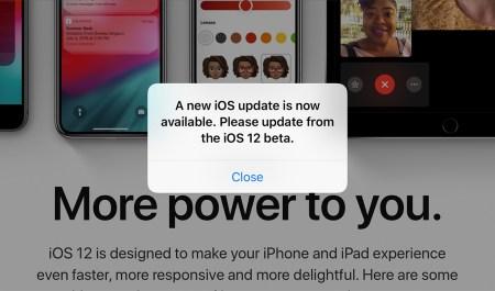 Баг: Обновление Apple iOS 12, которого на самом деле нет