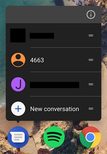 В ПО Android Messages появилась темная тема оформления