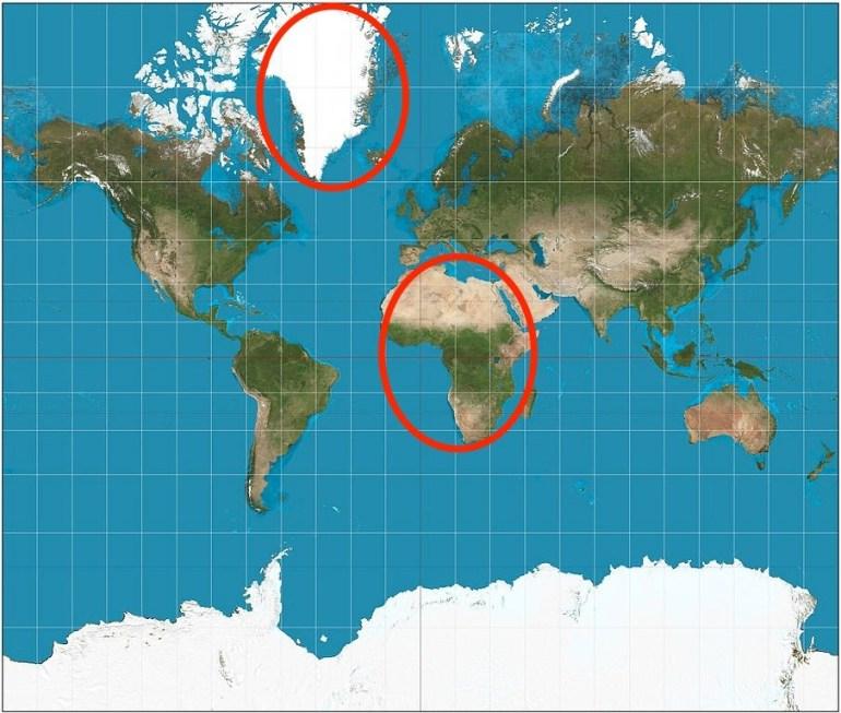 Google Maps теперь показывает землю в виде шара, а не плоской проекции