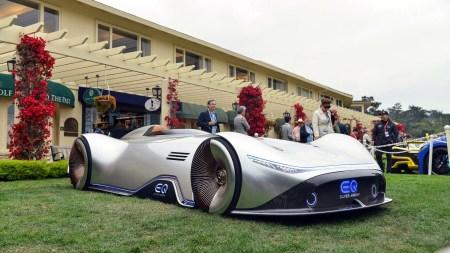Mercedes EQ Silver Arrow — электрический концепт с мощностью 750 л.с., батареей 80 кВтч и запасом хода 400 км
