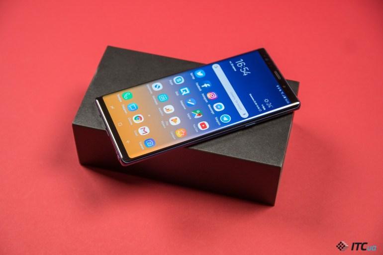 экран Galaxy Note9