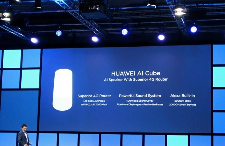 Huawei на IFA 2018: процессор Kirin 980, умная колонка-роутер AI Cube, успехи и новые цвета серии P20