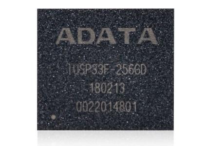 ADATA анонсировала компактный производительный SSD IUSP33F в корпусе BGA