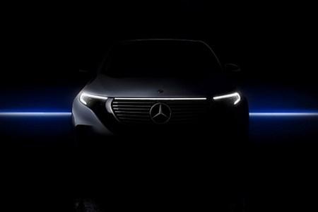 Mercedes-Benz почти полностью раскрыл дизайн электрокроссовера Mercedes EQC за день до анонса
