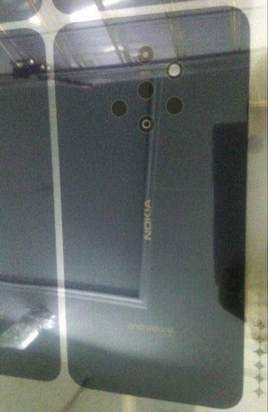 На фотографии засветился смартфон Nokia с пятью камерами на задней панели