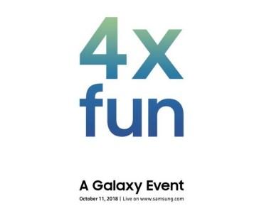 11 октября Samsung может представить новый смартфон Galaxy с основной камерой, включающей четыре модуля