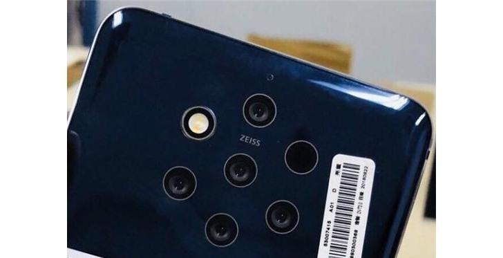 Смартфон Nokia 9 с 5 камерами засветился на качественной фотографии и рендерном изображении