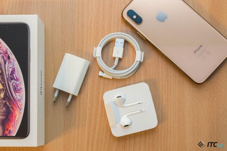 комплектация iPhone Xs и iPhone Xs Max