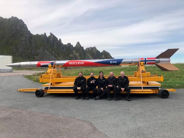 Норвегия произвела запуск Nucleus - первой космической ракеты собственного производства
