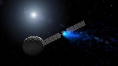 Миссия межпланетного зонда Dawn завершится через месяц, вскоре связь с ним будет потеряна