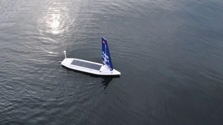 Судно-беспилотник Sailbuoy SB Met впервые пересекло Атлантический океан