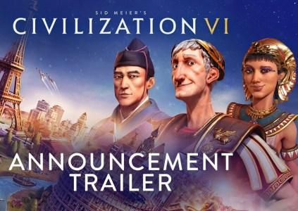 Появился трейлер игры Civilization VI для консоли Nintendo Switch