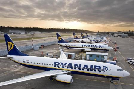 Лоукостер Ryanair совершил свой первый рейс из Украины