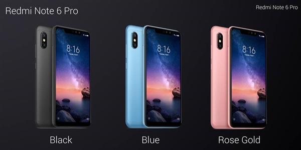 Представлен смартфон Xiaomi Redmi Note 6 Pro с батареей на 4000 мА·ч, двойной фронтальной камерой и ценой $215