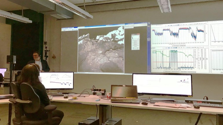 Модуль MASCOT завершил свою миссию на астероиде Рюгу